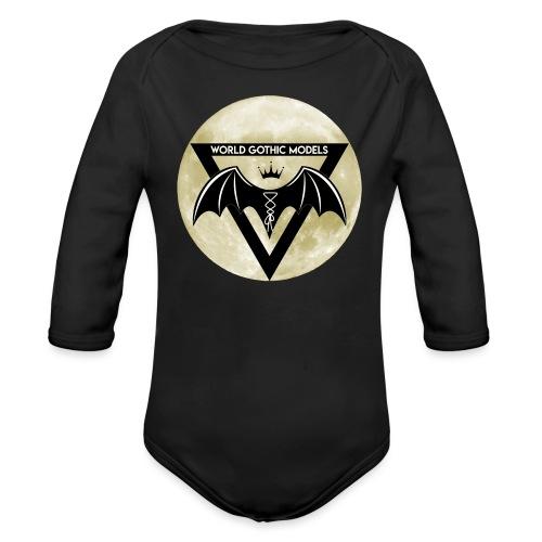 WGM Logo + Different is Beautiful | 2 Sided Design - Organic Longsleeve Baby Bodysuit