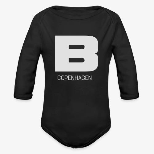 BADASSCOPENHAGEN - B_CPH - Langærmet babybody, økologisk bomuld