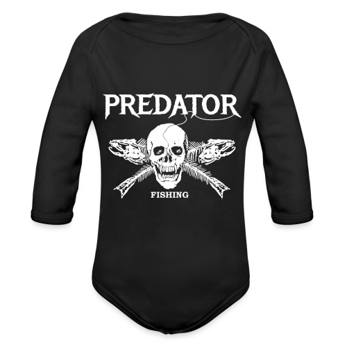 Predator Fishing T-Shirt - Baby Bio-Langarm-Body