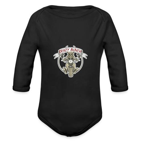 Crazy Bunch - Baby Bio-Langarm-Body