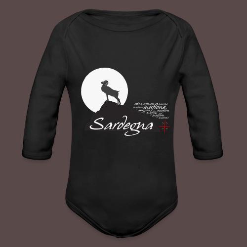 Mufflon Sardinia - Body ecologico per neonato a manica lunga