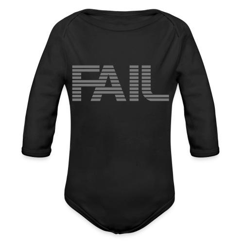 FAIL - Baby Bio-Langarm-Body