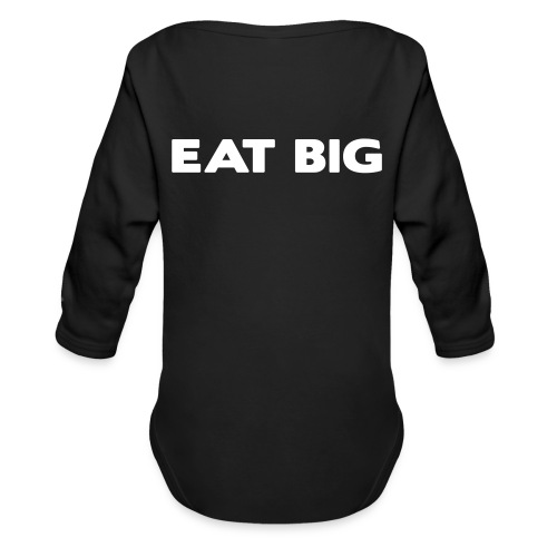 eatbig - Organic Longsleeve Baby Bodysuit