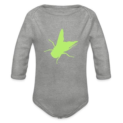 fliege - Baby Bio-Langarm-Body