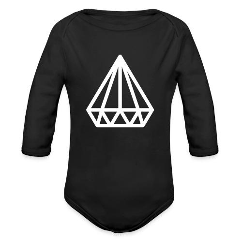 Dropchainers T-Shirt V Auschnitt - Baby Bio-Langarm-Body