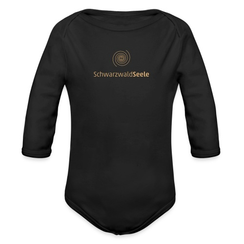 SchwarzwaldSeele Logo br - Baby Bio-Langarm-Body