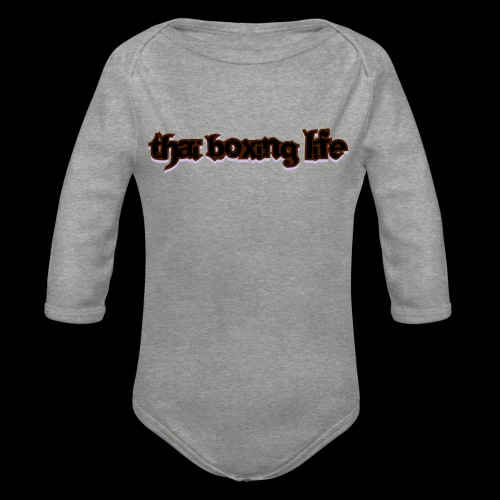 MTS92 THAI BOXING LIFE - Body Bébé bio manches longues