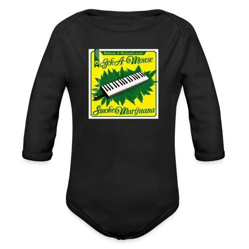 Smoke Marijuana - Organic Longsleeve Baby Bodysuit