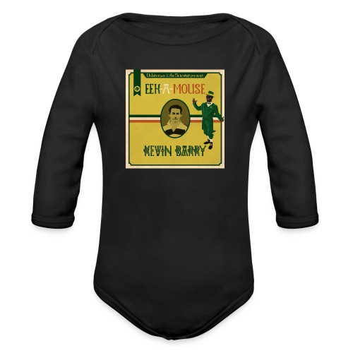 Eek a Mouse Kevin Barry - Organic Longsleeve Baby Bodysuit