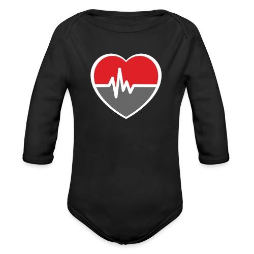 RaveHeart - Flowjob - Organic Longsleeve Baby Bodysuit