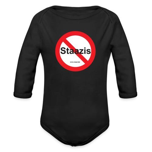 Staazis Verboten - Baby Bio-Langarm-Body