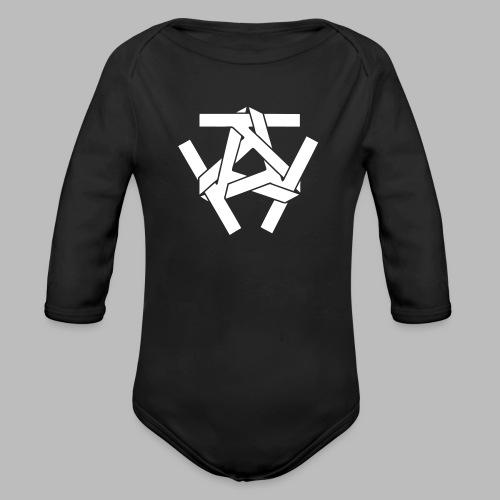 KKK-Logo-vektor - Baby Bio-Langarm-Body