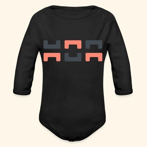 Angry elephant - Organic Longsleeve Baby Bodysuit
