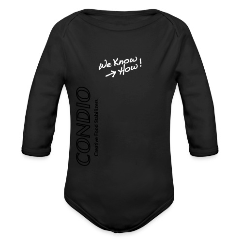 Condio Logo - Organic Longsleeve Baby Bodysuit