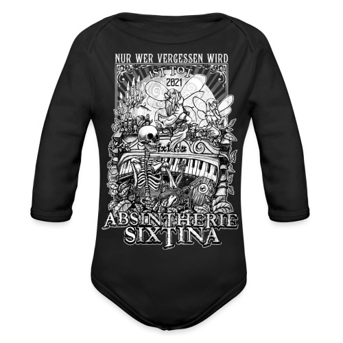 Absintherie Sixtina 2021 - Sixtina Support - Baby Bio-Langarm-Body
