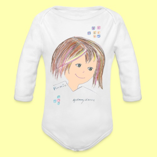 Pinni® Desing by Emmy Hanna - Baby Bio-Langarm-Body