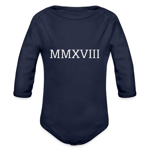 MMXVII - design - Body Bébé bio manches longues