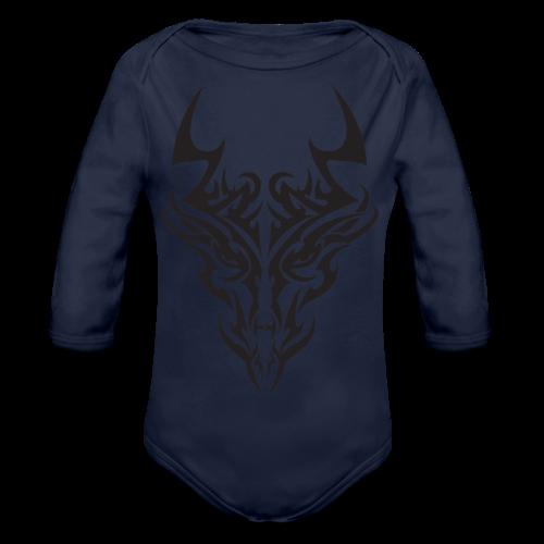 tribal dragon - Body Bébé bio manches longues