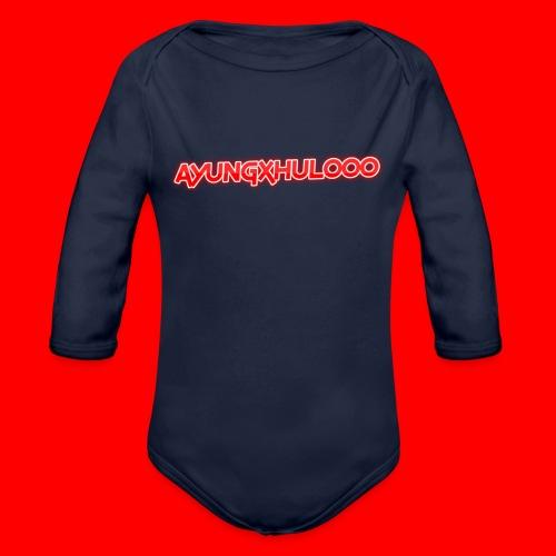 AYungXhulooo - Neon Redd - Organic Longsleeve Baby Bodysuit