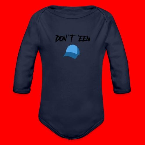 AYungXhulooo - Atlanta Talk - Don't Een Cap - Organic Longsleeve Baby Bodysuit