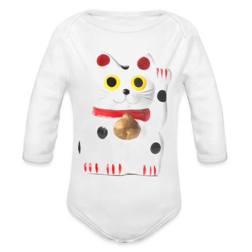 luckycat - Organic Longsleeve Baby Bodysuit