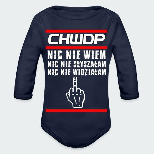Tank top damski Premium CHWDP - Ekologiczne body niemowlęce z długim rękawem