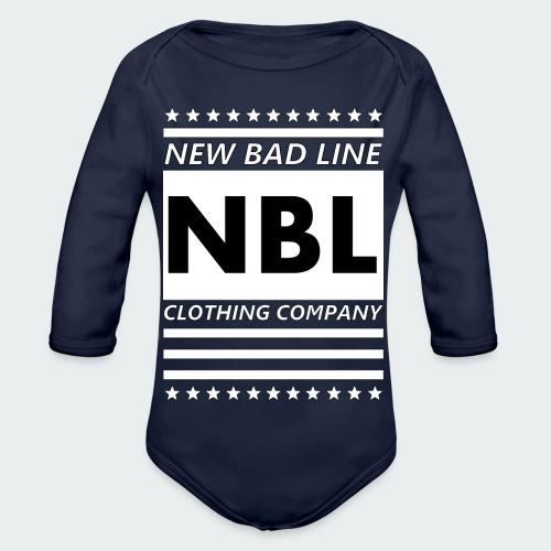 Męska Koszulka Premium New Bad Line - Ekologiczne body niemowlęce z długim rękawem