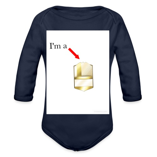 I'm a legend - Organic Longsleeve Baby Bodysuit
