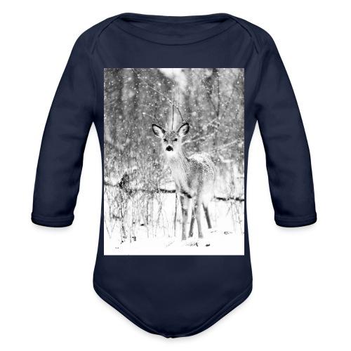 Deer: Phone Case - Organic Longsleeve Baby Bodysuit