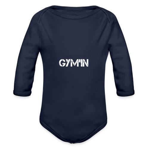 gym inessaie - Body Bébé bio manches longues