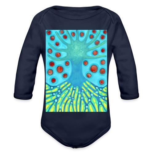 Drzewo I Planety - Ekologiczne body niemowlęce z długim rękawem