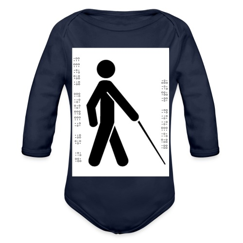 Blind T-Shirt - Organic Longsleeve Baby Bodysuit