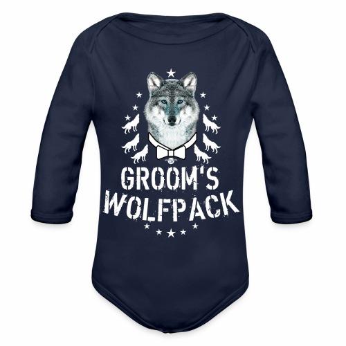 164 Wolf JGA GROOM'S Wolfpack - Baby Bio-Langarm-Body