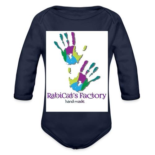 rabicat_mani - Body ecologico per neonato a manica lunga