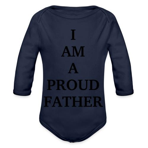 T-Shirt - Baby Bio-Langarm-Body