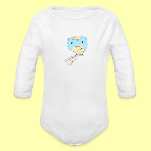 Pinni Bär® - Baby Bio-Langarm-Body