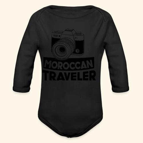 Moroccan Traveler - Body Bébé bio manches longues