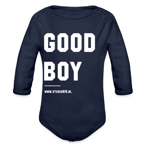 TANK TOP GOOD BOY - Baby bio-rompertje met lange mouwen
