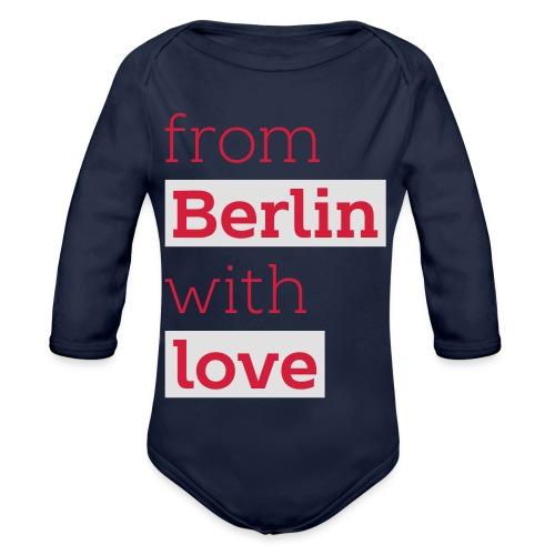 From Berlin with Love - Baby Bio-Langarm-Body