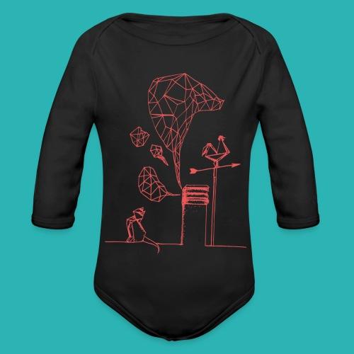 Carta_gatta_pink-png - Body ecologico per neonato a manica lunga