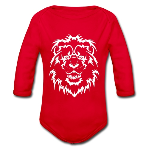 Karavaan LION - Baby bio-rompertje met lange mouwen