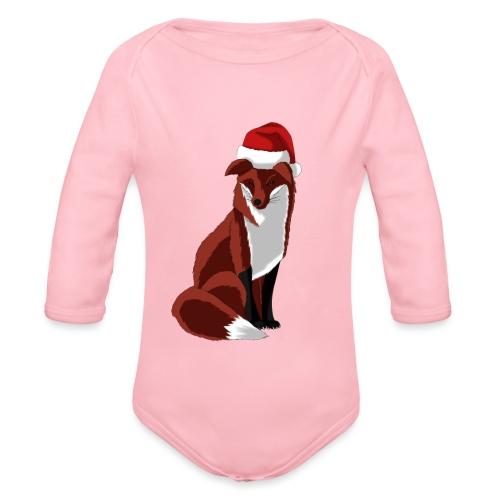 Fox - Organic Longsleeve Baby Bodysuit