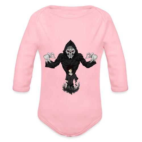 Shadowed - Organic Longsleeve Baby Bodysuit