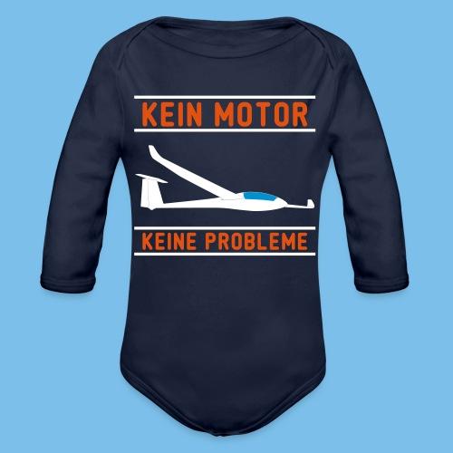 Lustiger Segelflieger Spruch für dein T-Shirt - Baby Bio-Langarm-Body