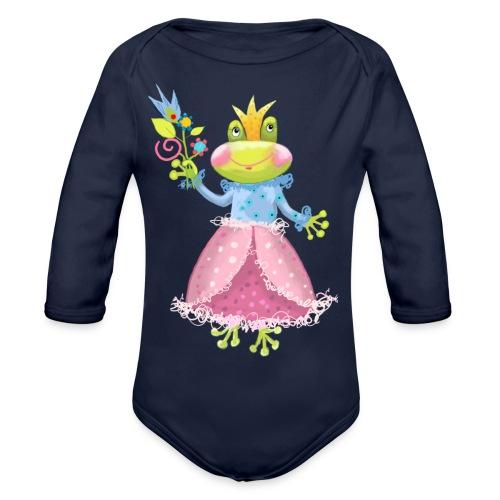 Prinzessin Frosch - Baby Bio-Langarm-Body