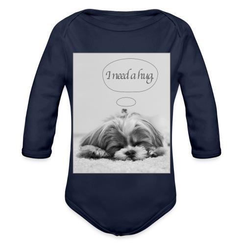 I Need A Hug: Phone Case - Organic Longsleeve Baby Bodysuit