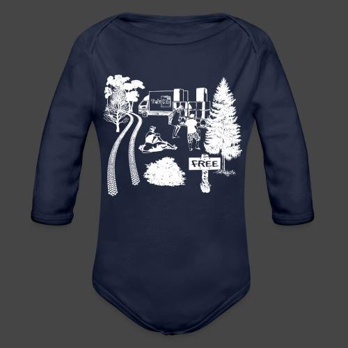 Partito liberale Tekno 23 - Body ecologico per neonato a manica lunga