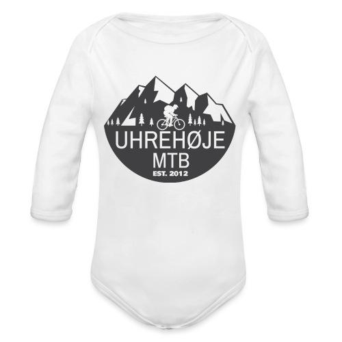 UhreHøje MTB - Langærmet babybody, økologisk bomuld