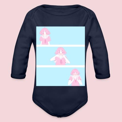 I like you! - Organic Longsleeve Baby Bodysuit