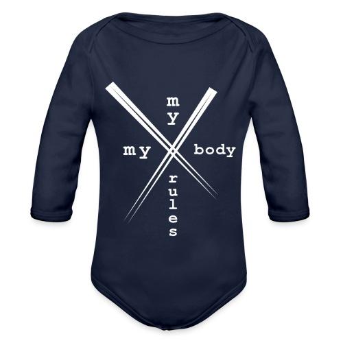 mybodymyrules - Body Bébé bio manches longues